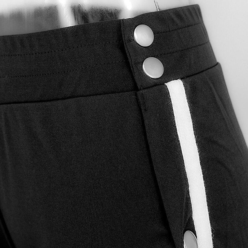 HTB11q80SpXXXXbTXVXXq6xXFXXX8 - Red button track pants runway Women's wide leg trousers casual pants JKP012