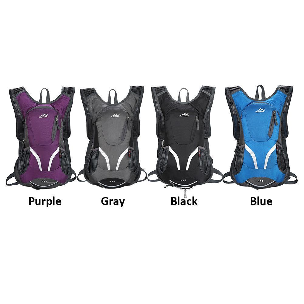 Di Grande Portatile Scegliere Resistente Sacchetto gray Zaino Impermeabile Alpinismo Capienza Strappo Durevole 4 Spessore purple Colore black Esterno Da Allo Trekking Blue CqXIwzq