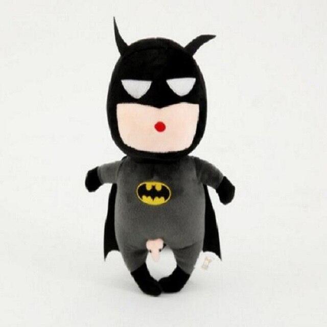 Lindo Marvel Hero Batman suave juguetes del bebé fresco bebé Musical ...