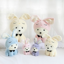 Hot New 1pc 26/40/50cm Two Face Rabbit Plush Soft Doll Toys Japan Cartoon For Girlfriend Birthday Present Christmas Gift