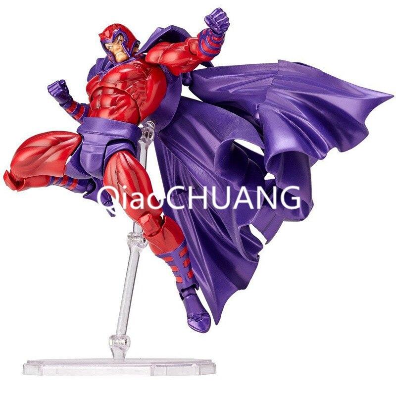 INCROYABLE YAMAGUCHI Revoltech NO 006 X-Hommes: Magnéto PVC Action Figure Collection Modèle Jouet 16.5 cm