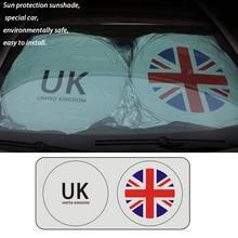 Universal UK Car Windshield Cover Front Window Screen Sunshade Rain Ice Snow Sun Shade Protection Auto SUV