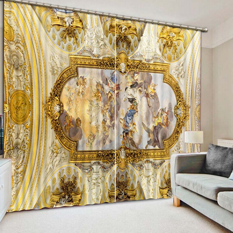 3D Printing Curtains Beautiful Variety Of Lifelike HD Scenery 3D Curtains  Bedroom Living Room Sunshade Window Curtain CL 084 In Curtains From Home U0026  Garden ...
