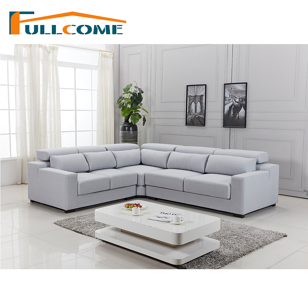 China Home Furniture Modern Leather Scandinavian Sofa Love Seat Chair Sofa Set Living Room Furniture Fabric Functional Sofa