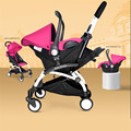 Baby Cars Seat Stroller 4 In 1 Folding Umbrella Bebe New Stroller Buggy Babies Cradle Chair Infants Car Safe Seat Lightweight
