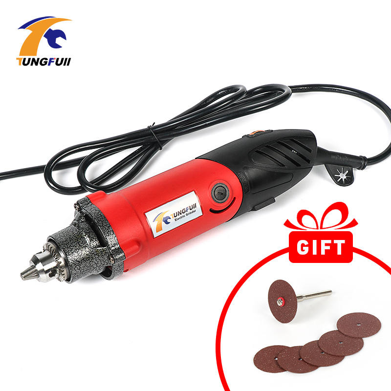 Tungfull Engraver 500W 220V Power Tool Engraver Electric Dremel Tools Accessories Mini Electric Drill Cutting Polishing Grinding