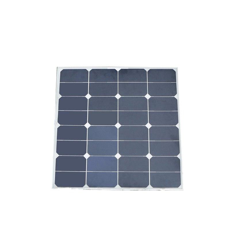 Prix pour Universel Elfeland 50 W 18 V Mono Panneau Solaire Flexible Monocristallin Sunpower pour Chargeur de Batterie En Plein Air Caravane Puce de Puissance