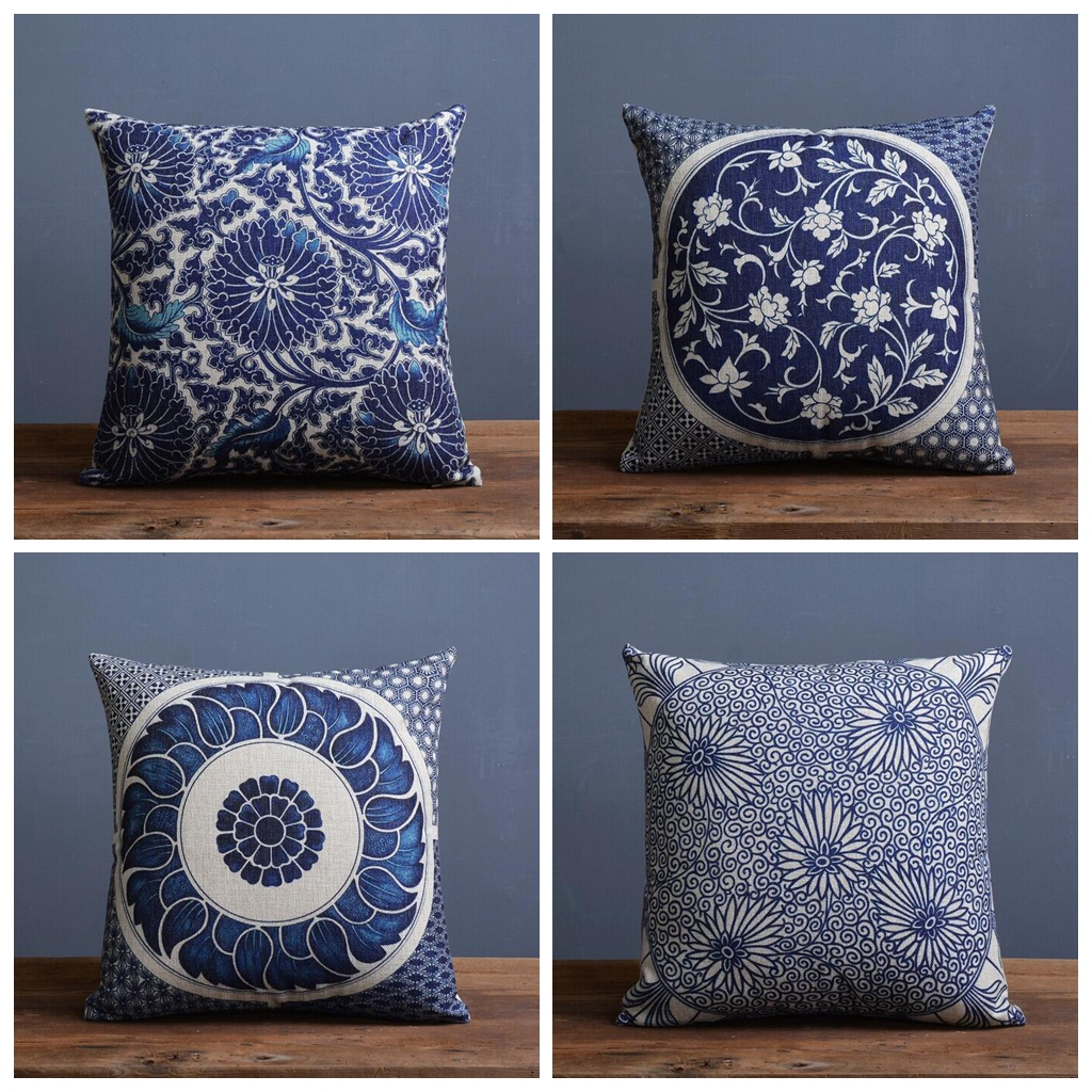 pin hill pine loop pillows laylagrayce blue decorative bait cone pillow
