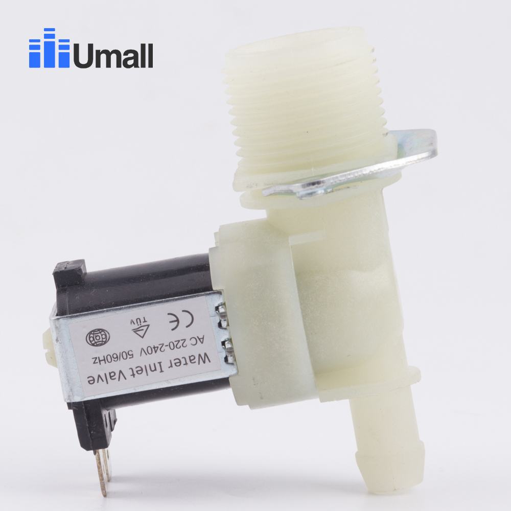 ultra durable washing machine water inlet valve JSF2 single inlet solenoid valve common washer replacement assemblyultra durable washing machine water inlet valve JSF2 single inlet solenoid valve common washer replacement assembly