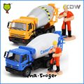 Mr.Froger 1:50 Cement Mixer Model Car Metal Small Alloy Engineering Construction Vehicles Truck Decoration Classic children Toy