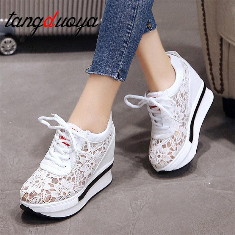 women shoes 2020 white platform wedge