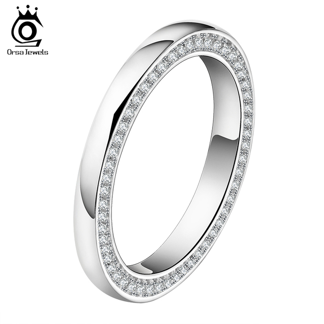 orsa jewels 2017 new arrival luxury brand wedding band with 118