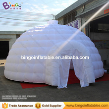 Giant dome tent garden igloo train tent for kids 6*6*3.5M outdoor dome igloo tent large play tent for outdoor event, show, party