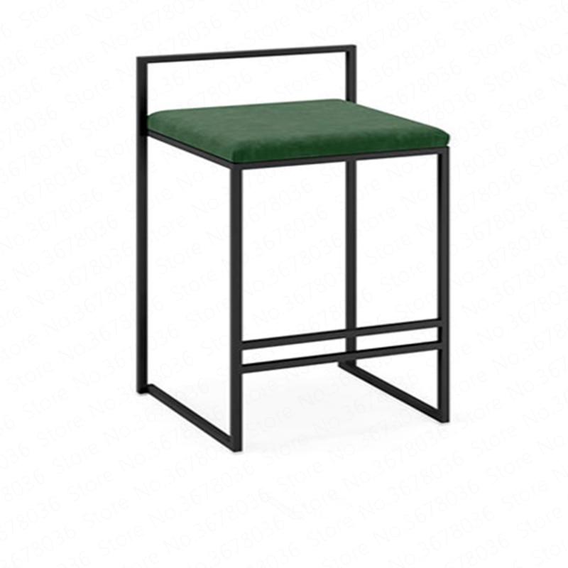 Nordic Bar Stools Fashion Modern Minimalist Bar High Bar Stool Home Personality Bar Chair Creative Designer Chair
