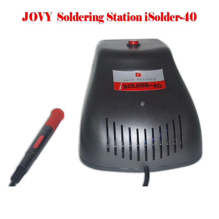 Jovy iSolder-40 SMD rework system soldering station, soldering machine, welding table, rework station ship to russia no tax jovy re8500 bga rework station re 8500 upgraded from re7500 soldering machine high quality