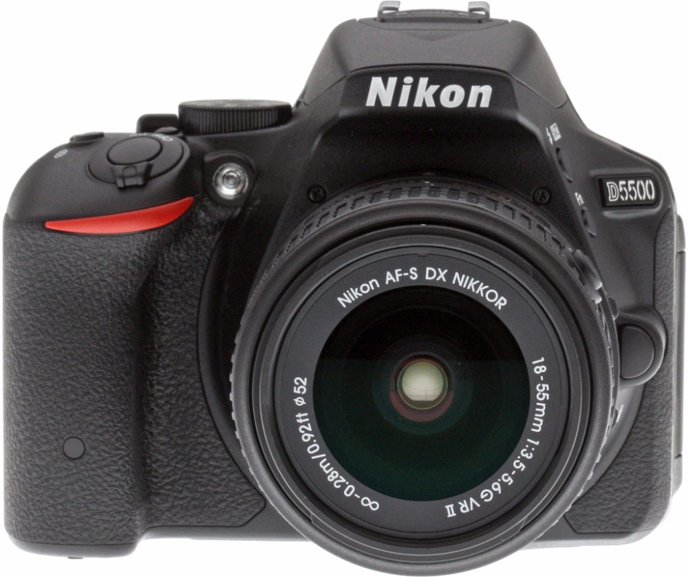 New Nikon D5500 Digital SLR Camera Body with Nikon AF S DX 18 55mm f 3