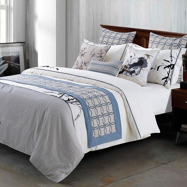 Stile americano Runner Bed Flag Sciarpa Jacquard Camera Da Letto ...
