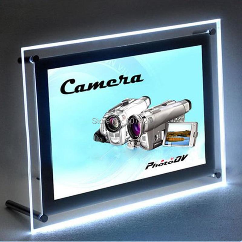 Diners Caf/és 21H x 7W x 1D Vertical Electronic Light Up Sign for Restaurants LED Diner Sign for Business Displays