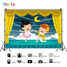 Yeele Stage Curtain Childrens Prom Dancing Party Personalized Photography Backdrops Photographic Backgrounds For Photos Studio