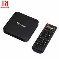 TX3 Pro TV Box Amlogic S905X Quad Core 4K Android 6 0 2 4G WiFi Multi
