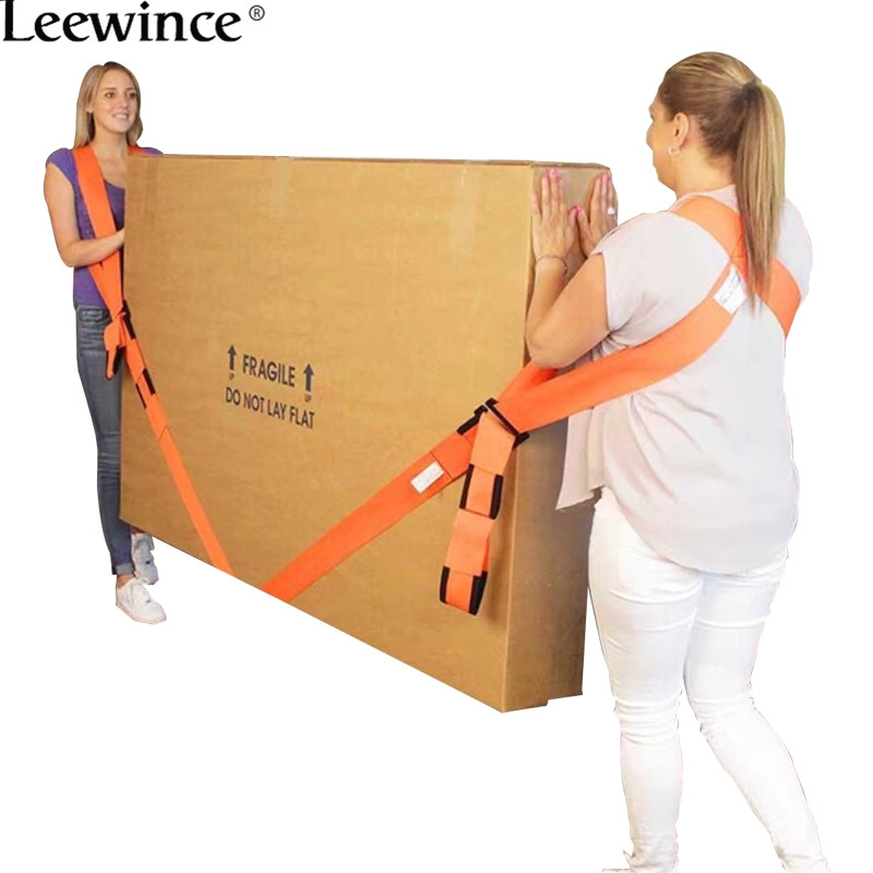 Leewince Move With Tool Furniture Accessories Refrigerator Belt Nylon Rope Load Line Shoulder Strap Move Artifact Home Of Rope