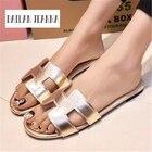 New Summer Slipper Women Slippers Slides Women Sandals Slippers Word Hollow out Women Single Sandals Non-slip Fashion