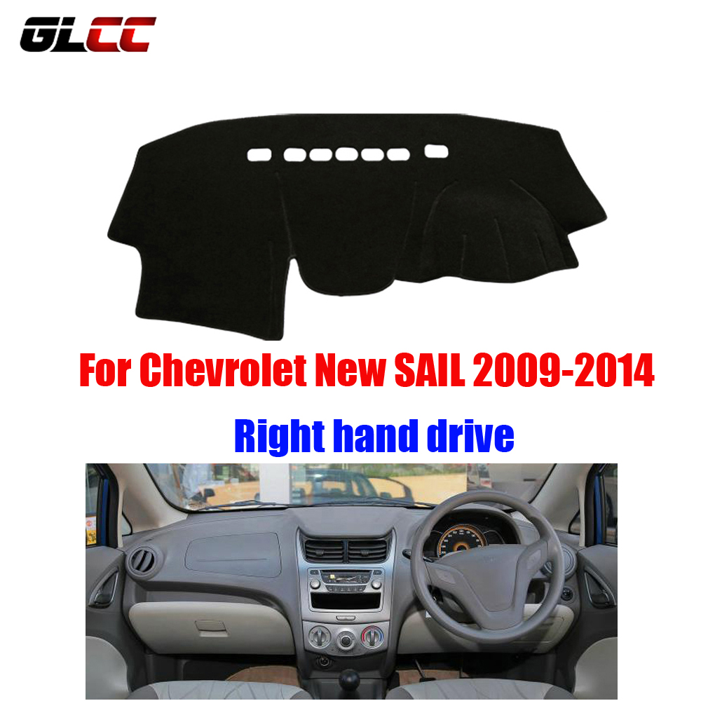 Car dashboard cover mat for Chevrolet New SAIL 2009-2014 Right hand drive dashmat pad dash covers auto dashboard accessories brand new car dashboard cover for audi tt dash cover mat right hand driver