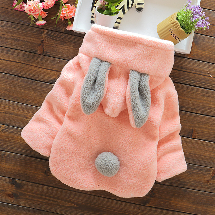 bbdb780d2 2016 Infant Baby Boys Parka Toddler Girls Snow Wear Baby Coat Cute Rabbit  Cotton Padded Snowsuit Baby Winter Jacket Thick Baby-in Snow Wear from  Mother ...
