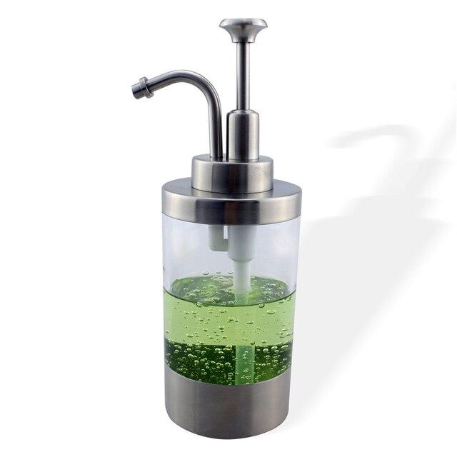 Edelstahl Seife Flussigkeitsspender Pumpe Flasche