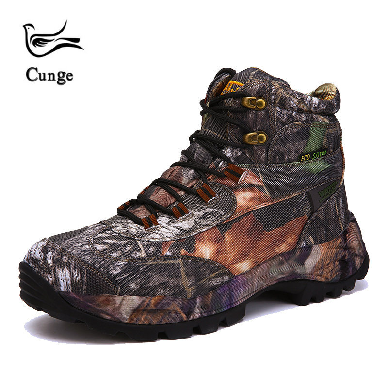cunge 2018 Outdoor Men Combat Army Boots High-top Hiking Shoes new Desert Military Tactical Boots Trekking Shoes plus size 40-45 2017 new military men s outdoor breathable hiking tactical boots men army combat trekking climbing shoes mountaineering boots