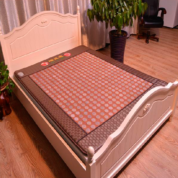 New Style Popular In Thailand Health Care Hot Stone Tourmaline Heating Bed Jade Heating Pad Bed Mattress As seen on TV feuersteins reisen feuerstein in thailand