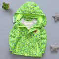 2016 Autumn Boys Hooded Clothes Waterproof  Windbreaker children's clothing windbreaker jacket Hoodie Fashion Wear BOYS COAT