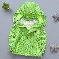 2016 Outono roupas Meninos Com Capuz Roupa das crianças Blusão Impermeável jaqueta corta-vento Desgaste MENINOS CASACO Moletom Com Capuz Moda