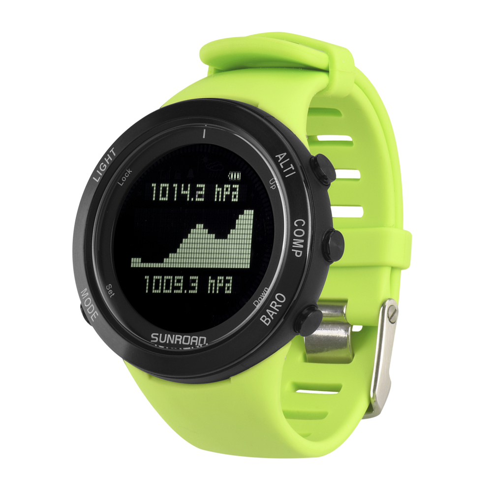 Sport Digital Watches Outdoor Sport Watch Heart Rate Monitor Air Pressure Trend Compass 50M Waterproof Watches for Men Women цена и фото