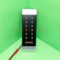 10PCS Rfid Door Lock System 125KHz RFID Card Password Access Controller With Touch Keypad Wiegand In
