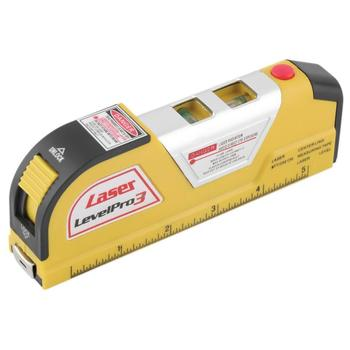 XX-LV02 nivel de nível A Laser Multifuncional fio Infravermelho Linha Laser Nível Fita Métrica 8FT 2 caminho nível bolhas niveau de Nível A Laser