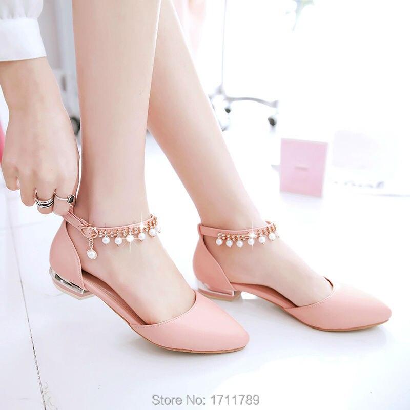 Bead Shoes Closed Toe