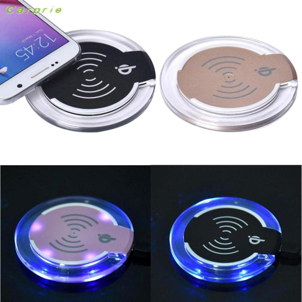 CARPRIE High Recommend Qi Wireless Charger Charging Pad For iPhone 8/iPhone 8 Plus Smartphone battery universal phone charger