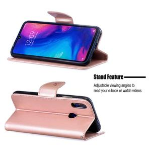 Image 4 - עור מפוצל מקרה עבור Xiaomi Redmi הערה 7 פרו מקרה Flip ארנק כיסוי Redmi 6 פרו טלפון Xiaomi Redmi 7 6 6A כיסוי Coque