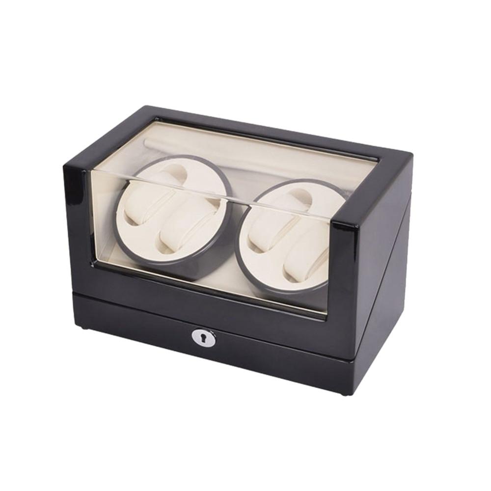 İzle Sarıcı, LT Ahşap Otomatik Rotasyon 4 + 0 İzle Sarıcı - Saat Aksesuarları - Fotoğraf 3