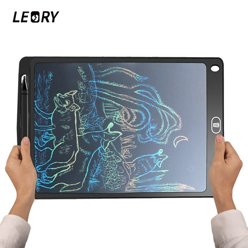 10inch Colorful LCD Digital Tablets Children's Drawing Tablet Painting Doodle Writing Board Office Handwriting Pad Board купить в Москве 2019