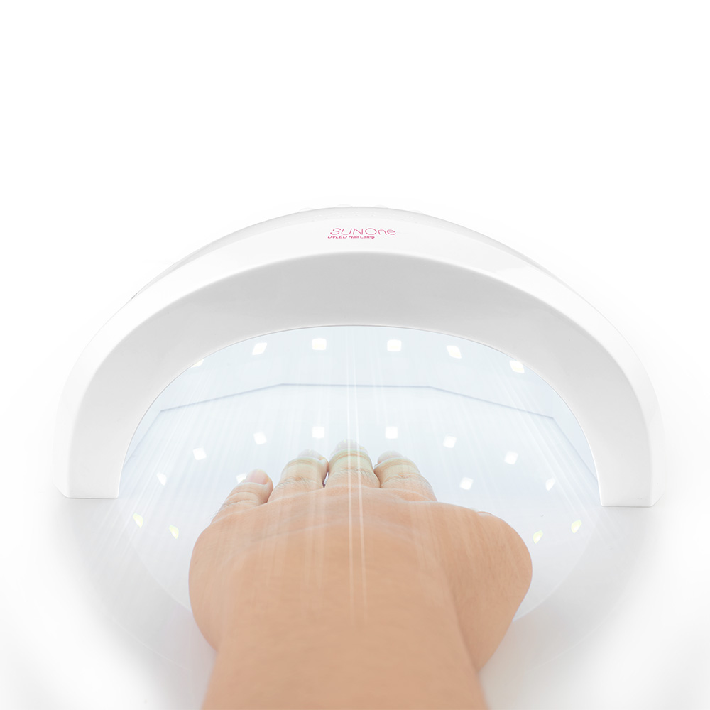 SUNone 48W Smart Lamp Beauty Gel Nail Dryer LED Automatic Sensor Light Phototherapy Suit for Various Types of Nail Beauty Salon various ballads of beauty