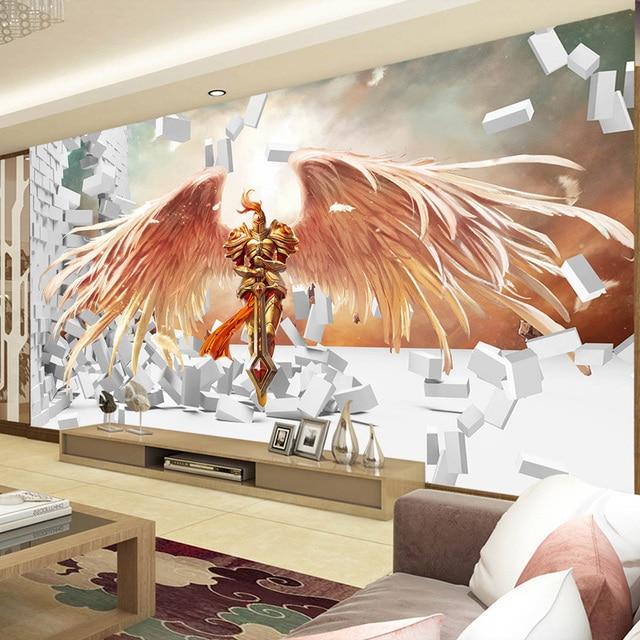 Buy 3d game wallpaper league of legends for 3d room decoration games