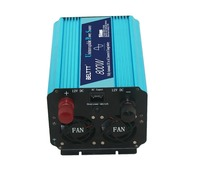 full 800w dc 12v to ac 220v pure sine wave ups inverter with battery changer and LED display good quality free shipping