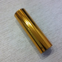 4 rolls/lot Hot stamping foil stampa a caldo su carta o plastica oro colore 110-1 stampaggio a caldo pellicola 16 cm x 120 m