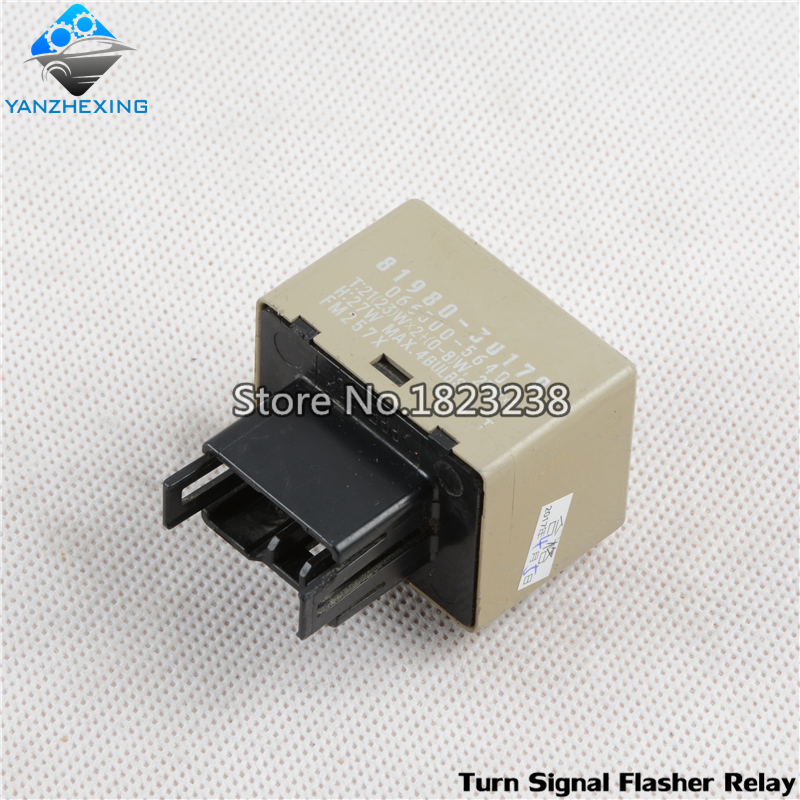 Turn Signal Flasher Relay Oem 81980 30170 For Toyota Camry Crown Innova Kijang Fortuner Hilux