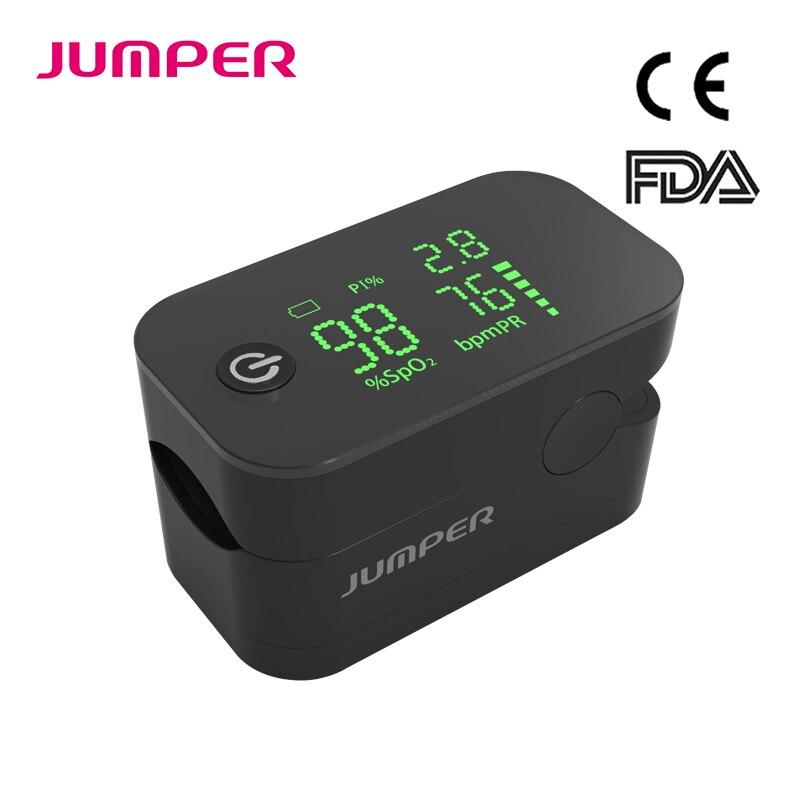 JUMPER SpO2 Casa Da Família Na Ponta Do Dedo Oxímetro de pulso De Dedo Oxímetro de Pulso Oxímetro de Pulso Dedo Oxímetro De Pulso LED CE FDA JPD-500G