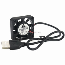 2 Pieces 40mmx40mmx10mm 4010s 5V PC Case 40mm USB 2.0 Cooling Fan
