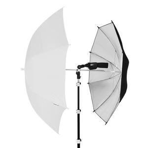 Image 5 - Universal โลหะ Cold Shoe Mount Flash อะแดปเตอร์รองเท้าร้อนสำหรับ Trigger คู่ผู้ถือหมุนขายึด