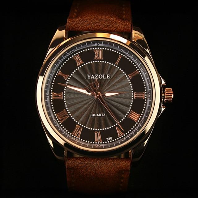 2017 YAZOLE Business Men Watch Top Brand Luxury Watches Men Clock Classic Fashion Wristwatch Male Quartz-Watch Reloj Hombre